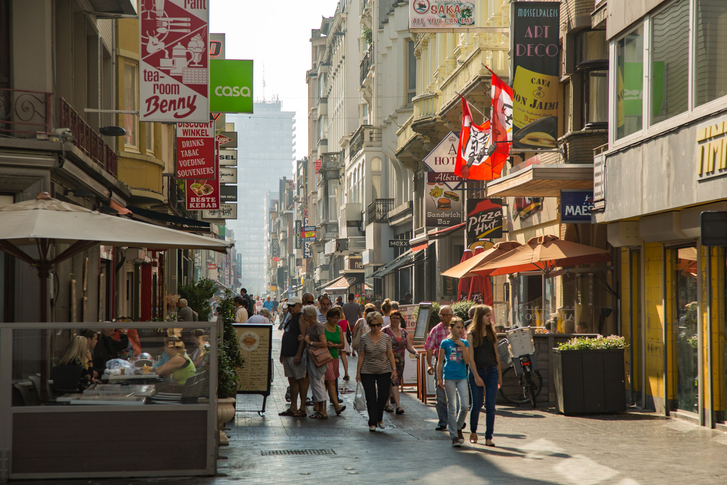 winkelen in Oostende
