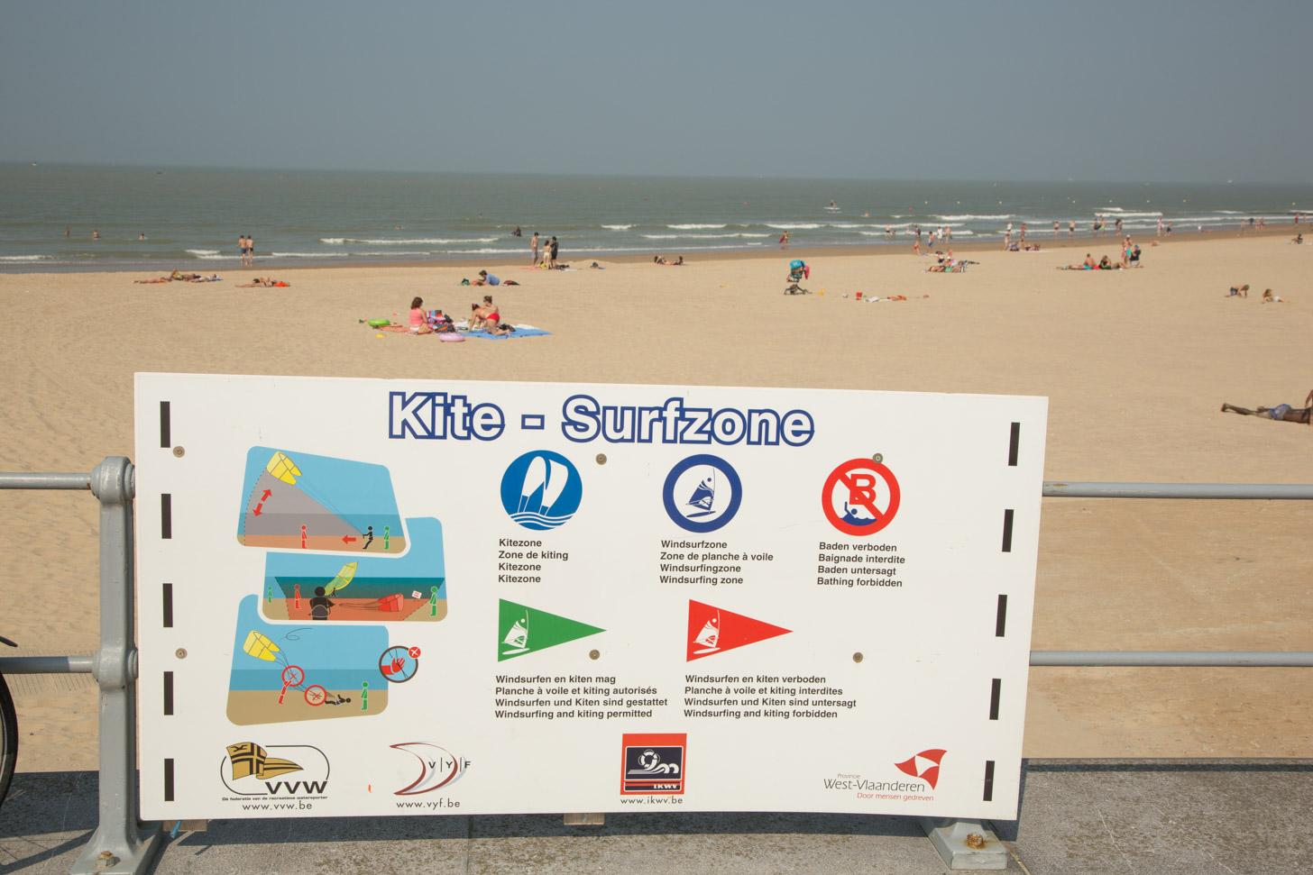 surfzone van het strand