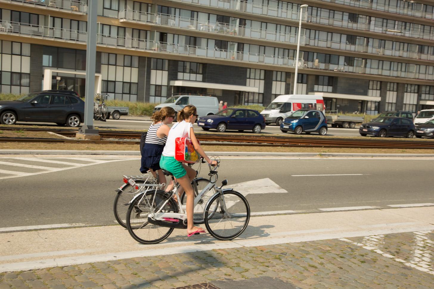 Fietsen in Oostende