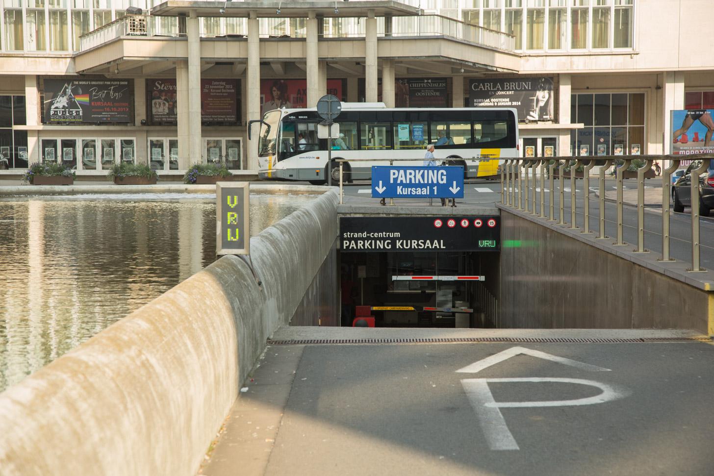 Parkeren in Oostende